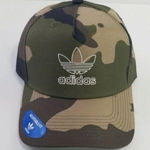 NEW Adidas camp cap hat three stripes